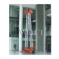 四桅自行走桅柱式高空作业 高空作业平台生产厂家 桅柱式高空 桅柱式升降台