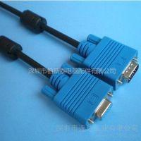 供应VGA线转接线公转母电脑线视频电脑连接电视线VGA延长线