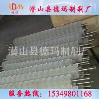 生产供应钢丝刷辊 缠绕刷辊 上下料机刷辊 钢丝弹簧刷 条刷辊