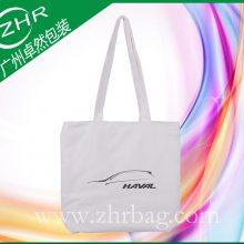 【卓然包装】汽车行业广告袋指定生产厂家 双面1色丝印全棉帆布广告袋 精美耐用