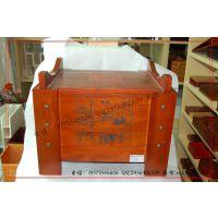 精品大木礼盒 大木箱子 仿红木大酒箱 瓷器包装木盒厂家定做