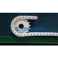上海塑料链条硅片清洗 干电池输送塑料链条供应