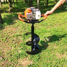 轻便式打孔机 大马力钻孔机 富兴牌植树挖坑机