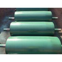 河北鼓形滚筒生产厂家矿山 输送带调偏收口滚筒