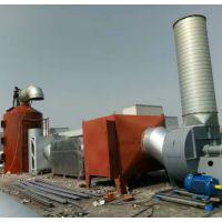 活性炭吸附箱 喷淋吸收塔 废气处理装置成套设备 环保工程公司