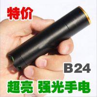 3节7号电池一档开关超亮强光LED电筒 迷你强光手电 促销礼品手电