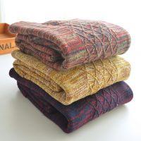 2014秋冬新款韩国混色彩色双口袋中长款加厚毛衣连衣裙