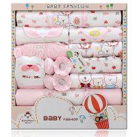 四季婴儿礼盒新生儿套装宝宝卡通服装米欣童品一件代发