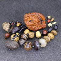 十八籽菩提念珠佛珠 饰品枣木工艺品 中国龙 车挂 代理加盟