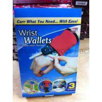 厂家直供Wrist Wallet运动手腕包 韩国手包 钥匙包钱包 三个装