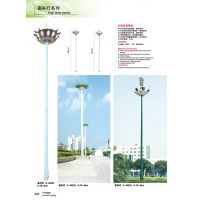 供应18米可升降高杆灯光源配置飞利浦金卤灯 (AW-212)
