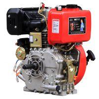 13马力 海润192FB柴油机 键槽轴 平键皮带轮