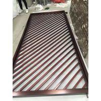 哑光拉丝不锈钢屏风 黑钛无指纹不锈钢隔断价格 304镜面不锈钢隔断厂家