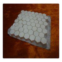 置顺陶瓷供应正四边形92%氧化铝耐磨陶瓷 耐磨陶瓷马赛克 化工输送设备配件 耐磨类