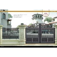 铝艺雕花庭院门 欧式高档别墅门 全自动平移门带遥控 新款特价 006