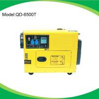 供应勤达QD-6500T三相柴油发电机 柴油静音发电机