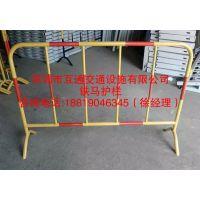 铁马批发、深圳移动护栏厂家、互通隔离栏、PVC护栏厂家