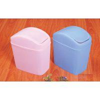 达盛TC-219 16.3*11*22.5 磨砂果皮箱/彩色塑料果皮箱/厨房垃圾箱