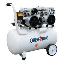 奥突斯OTS-750x2-50L 空气压缩机 小型无油空压机静音打气泵木工