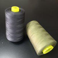 东莞线业 供应 符合欧盟环保标准 Oeko 100认证 金丽牌 纯涤纶缝纫线