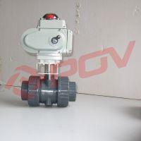 Q941X 上晋公司 PVC电动球阀销售部
