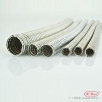 一洋五金Driflex生产不锈钢金属软管 Φ8-Φ100 304双勾平包管