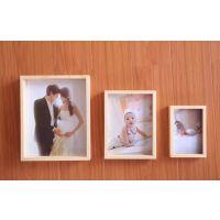 青岛富巴特韩式实木儿童婚纱影楼相框组合照片墙