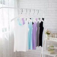 2015春装新款女装韩版百搭时尚甜美纯色蕾丝拼接吊带衫打底衫