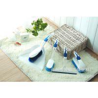 三福 5件多用途清洁刷 畚箕床刷 锅刷 鞋刷 玻璃清洁刮 SF7005