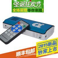 DLP安卓手机WIFI无线微型投影仪 电脑商务无线上网迷你投影仪