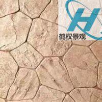 武汉彩色水泥艺术压模地坪厂家施工