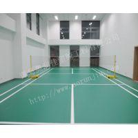 羽毛球地板-可卷可移动式地胶-弹性地胶