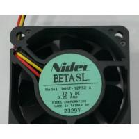 全新尼迪克NIDEC 6025 12V 0.25A D06T-12PS2 A 散热风扇