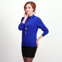 产地货源女士羊绒衫正品 2014秋款套头女式纯羊绒羊绒衫打底衫