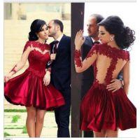 2015速卖通爆款欧美连衣裙红色蕾丝拼接花朵圆领连衣裙D29清仓