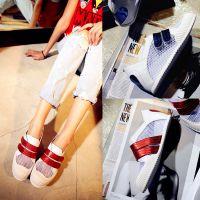 2015夏季热卖真皮凉鞋时尚网网运动鞋欧洲站大牌休闲女凉鞋学生鞋