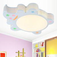 卡通铁艺LED灯具 时尚创意儿童房间吸顶灯 温馨可爱书房卧室灯饰