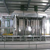 供应利用废旧塑料平板热压法木塑板生产线设备-青岛国森机械