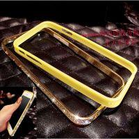 iphone6手机壳 iphone6plus镶钻金属边框 苹果6贴钻边框手机套