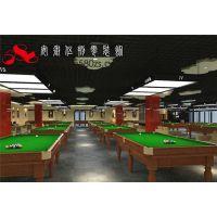 合肥台球俱乐部设计台球厅台球室装修专业设计量身定制
