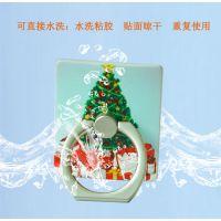创意新款 elice圣诞老人指环支架 实用创意小礼品定制 量大优惠