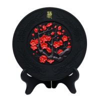 西安永康炭雕工艺品定制 特殊活性炭摆件设计销售 厂家直销