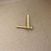 广东黄铜机螺钉 东鸿盛铜十字盘头机丝