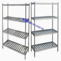东莞批量生产厨房不锈钢架子 四层菜架图片 厨房置物架