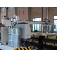 国森机械制造高精度大幅面板材施胶设备自动淋胶机