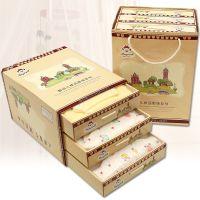 四季婴儿礼盒纯棉保暖宝宝服装套装童装拿货米欣童品微商货源