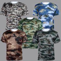 批发军迷户外服军训服迷彩装备 学生短袖迷彩服迷彩T恤 厂家直销