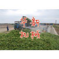 华新高喷式铡草机 养殖牛羊选用优质钢材青贮饲料铡草机
