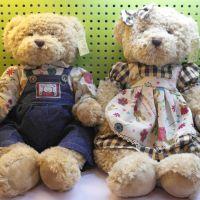 情侣泰迪熊对熊结婚熊压床娃娃婚庆礼物礼物