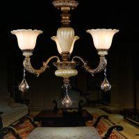 供应爱维尔美式吊灯复古客厅吊灯卧室餐厅树脂灯饰铁艺灯具(5382/3)